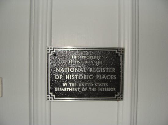 Manor Inn Bed & Breakfast: Historic Place