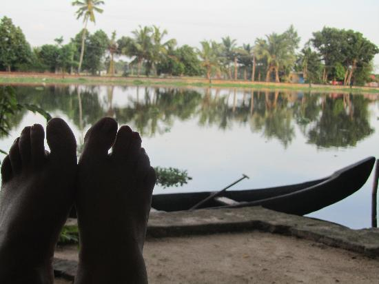 Our Land Island Backwater Resort: Relaxing as