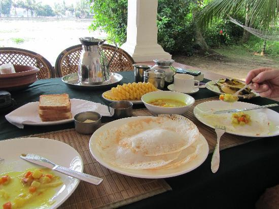 Our Land Island Backwater Resort: Every single meal
