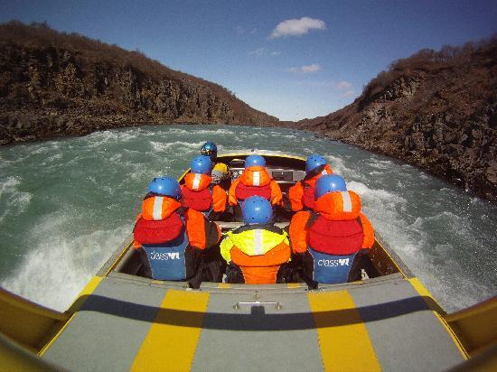 Reykholt, Islandia: Arctic white water jetboat trips in Iceland