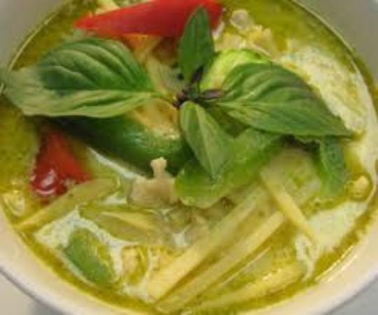 I am Thai: Green Curry (Gluten Free)