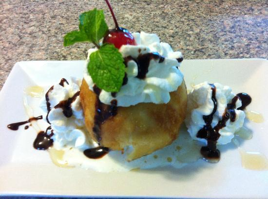 I am Thai : Fried Vanilla Ice Cream
