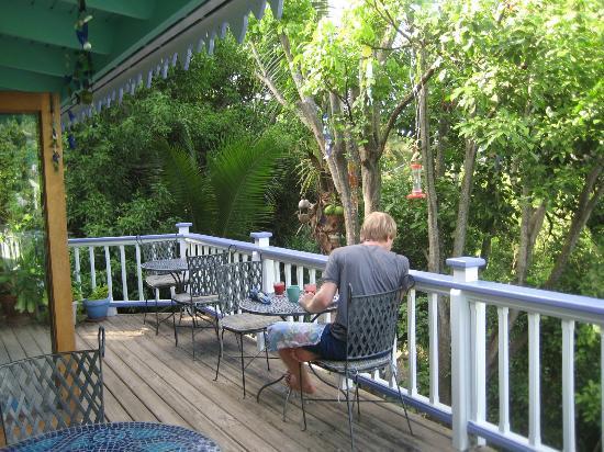Garden by the Sea B&B: Balcony