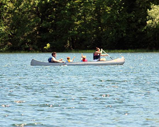 Locust Lake State Park: Canoe for rent