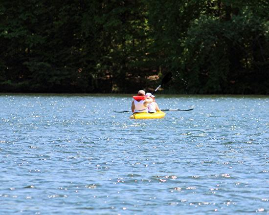 Locust Lake State Park: more boating