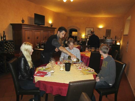 Tenuta Torciano: Tasting