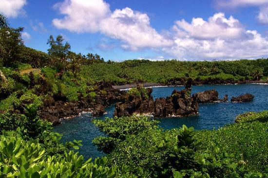 Temptation Tours: Visit a black sand beach