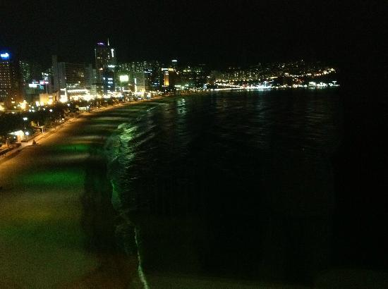 The Westin Chosun Busan: Night view from the room