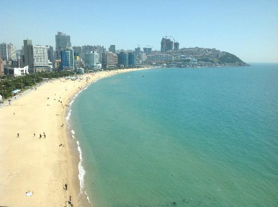 The Westin Chosun Busan: Another view from the room