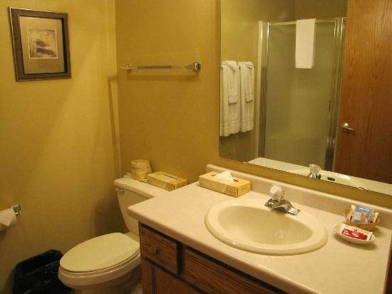 Newport Resort: One of two bathrooms