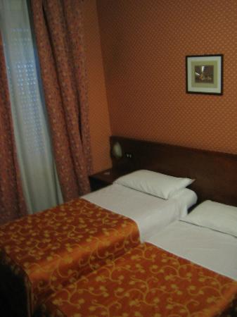 Hotel Cervo Milan : Room: Small, Old, but Clean