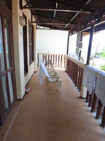 Taramindu Beach Garden Inn: Room Terrace