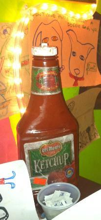 Sketch: Dirty ketchup bottle!