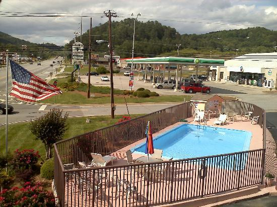 Days Inn Clayton: View from the front of the room.