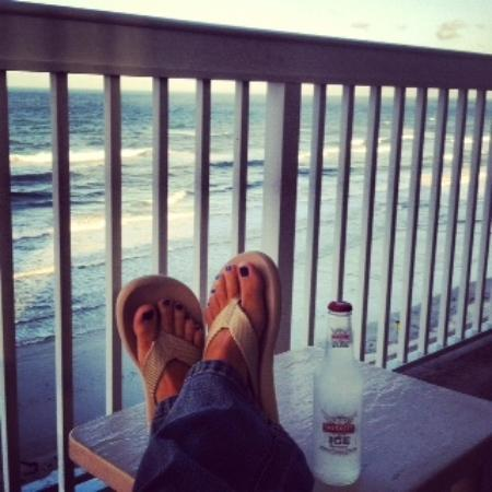 دايتونا بيتش ريزورت آند كونفرنس سنتر: Me on the balcony