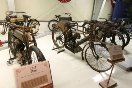 The Seal Cove Auto Museum: 1913 Thor Motorcycle