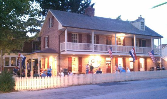 Mr. G's Ice Cream located at the historic John Winebrenner House