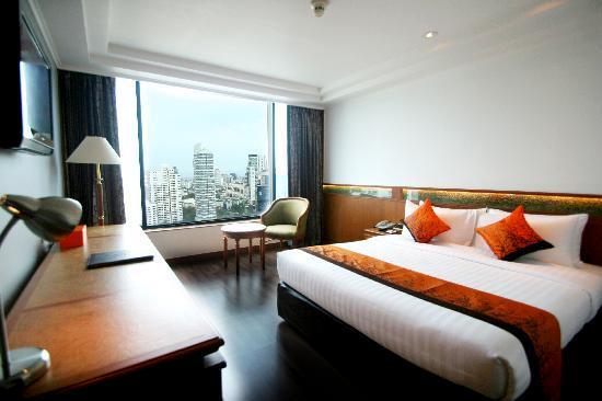 โรงแรมโลตัส สุขุมวิท กรุงเทพฯ: Superior King bedroom