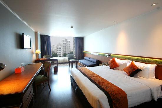 Bangkok Hotel Lotus Sukhumvit: Deluxe Bedroom