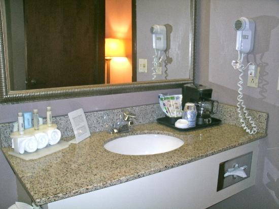 Holiday Inn Express Atlanta W (I-20) Douglasville: Bathroom amenities