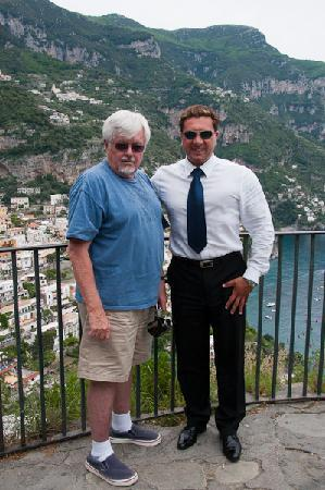 Positano Limousine Service Tours: Alex and Peter on Amalfi Coast