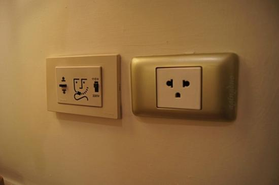 Mayfair, Bangkok - Marriott Executive Apartments: electrical socket