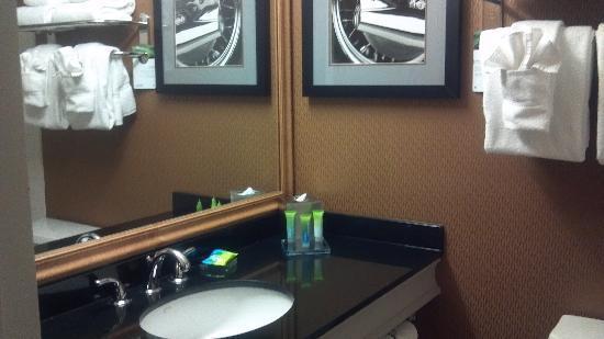 Radisson Hotel Milwaukee West : Very nice bathroom