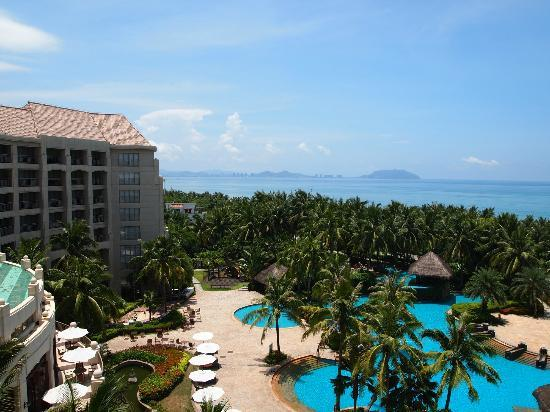 Holiday Inn Resort Sanya Bay : view from room