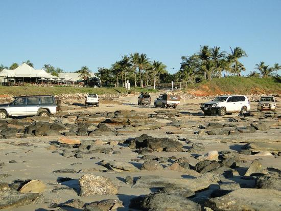 there was unfortunatly a daily traffic jam getting to and from Cable Beach northern section