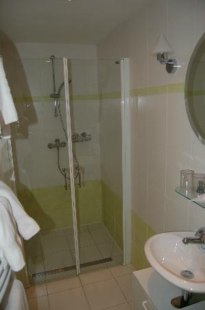 Hotel Restaurant Zum Alten Schifferhaus: Dusche