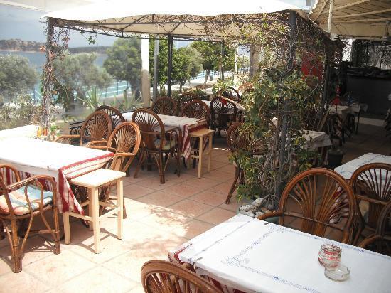Delta Restaurant: The restaurant inside!