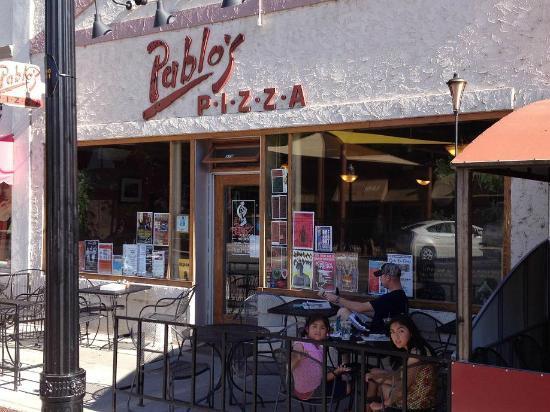 Pablo's Pizza: Pablo's Patio/Storefront