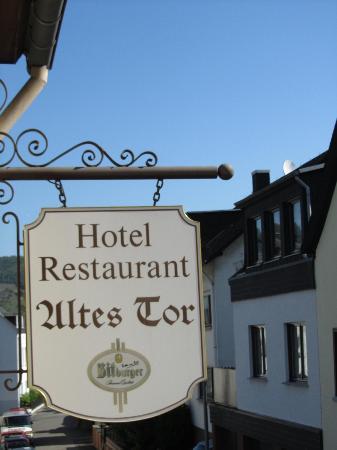 Hotel Altes Tor: Vista desde la habitación