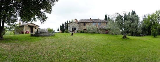 Casale San Lorenzo: view