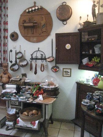 Hotel Granus: The breakfast room