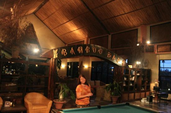 Toraja Heritage Hotel: the bamboo bar