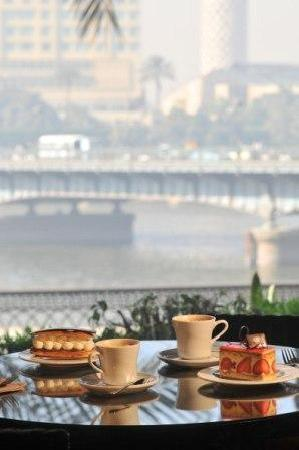 Delicious daily selections of pastries, live entertainment and Nile views.