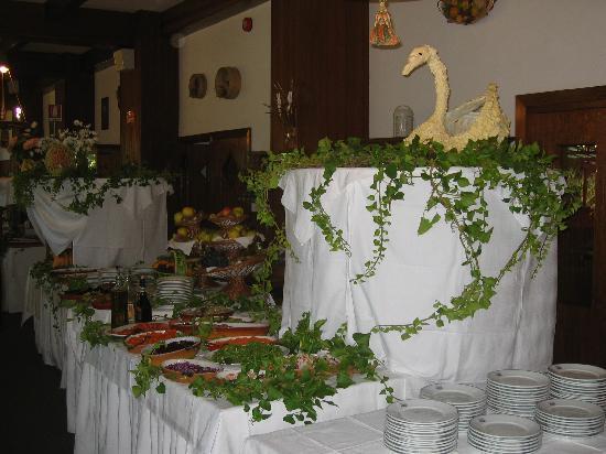 Grand Hotel Siva: il buffet