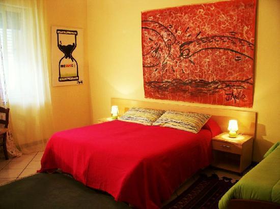 Mille Fiori : stanza rossa, dipinti d'autore
