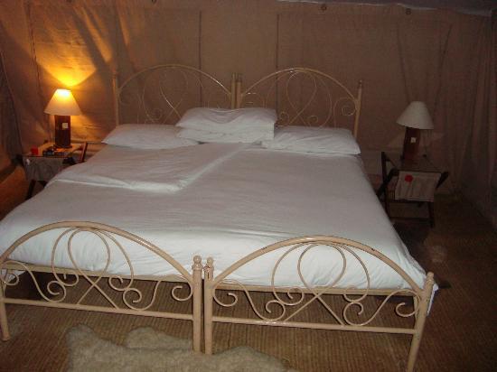 Nairobi Tented Camp: Bedtime...