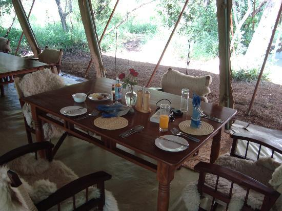 Nairobi Tented Camp: Lovely meals