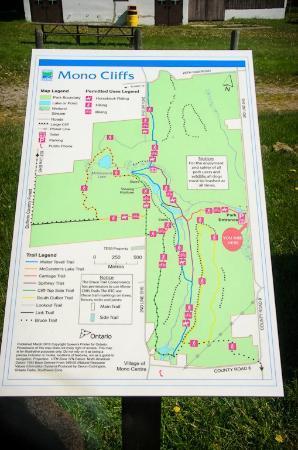 Orangeville, Canada: Map