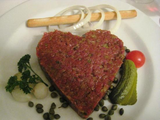 Entrecote Cafe Federal: Beef tartare