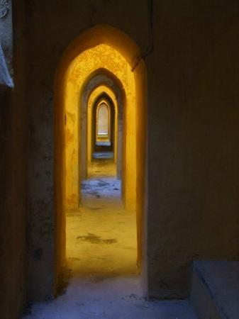 particolare dei bagni arabi dell\'alcazar - Foto di Alcazar de los ...