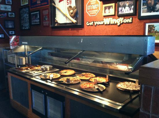 Buffet Food Area Picture Of Pizza Hut Sanford Tripadvisor