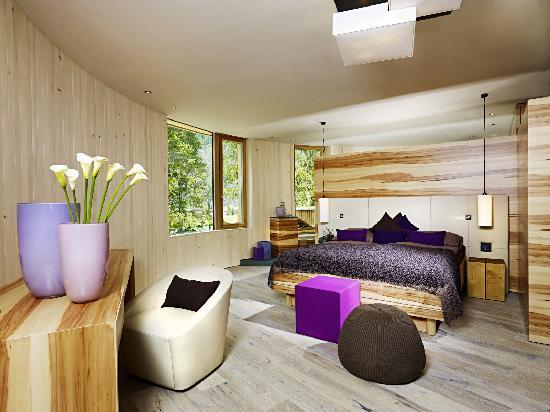 Naturhotel Waldklause: Baumkronen Suite