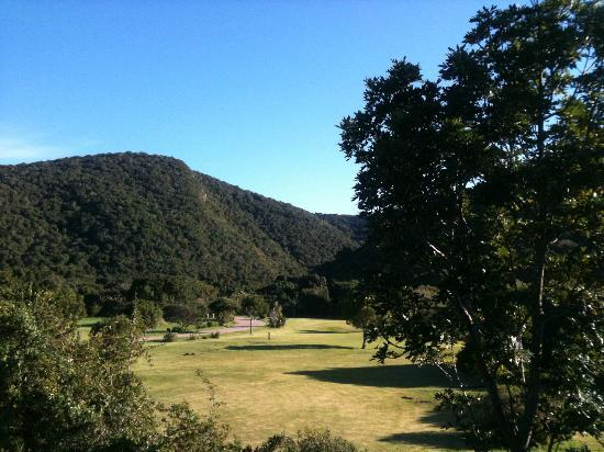 Garden Route Trail: view from cabin