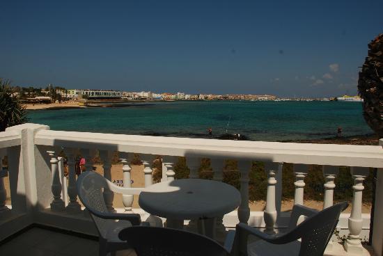 Galera Beach Resort: vista desde la terraza