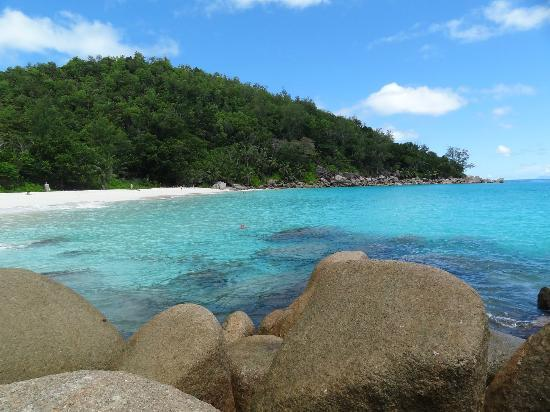 Anse Georgette: Beach