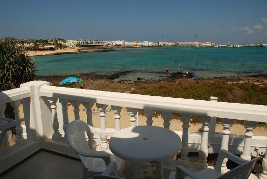 Galera Beach Resort: terraza
